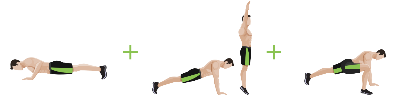 Drew mannings keto jumpstart program includes graphic examples of each workout as shown below fandeluxe Image collections